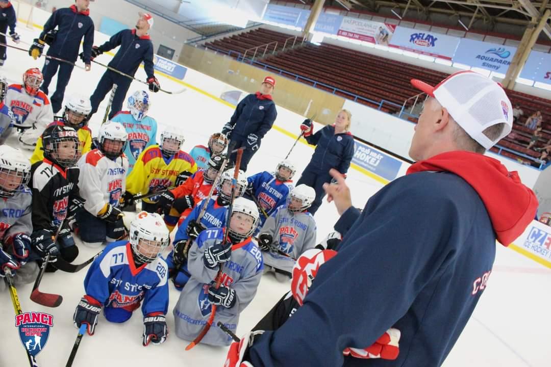 Sommer Eishockey Schule in Benatky nad Jizerou / Tschechien